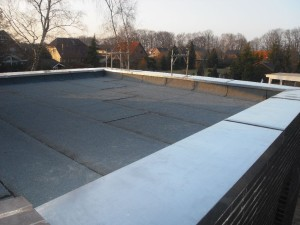 Flachdach Aluminiumkante