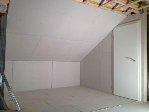 Ausbau Dachboden Rigips