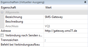 Loxone SMS Gateway