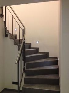 Treppengeländer unten