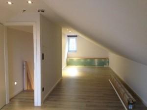 Ausbau Dachboden Ansicht Ost