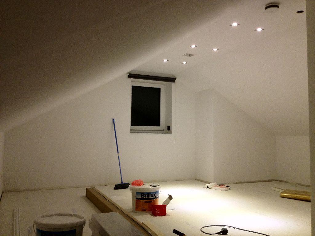 Ausbau Dachboden West