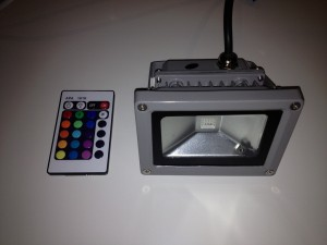 LED RGB Strahler