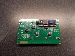I2C LCD Modul Rückseite