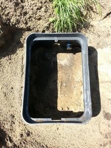 Gartenbewässerung Verteilerkasten
