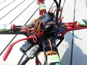 Quadrocopter APM