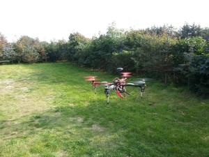 Quadrocopter 1