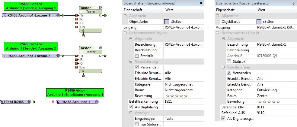 Arduino - MAX485 Modul mit Loxone RS485 Extension verbinden ...