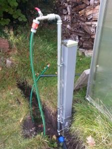 Wasserzapfstelle selber bauen