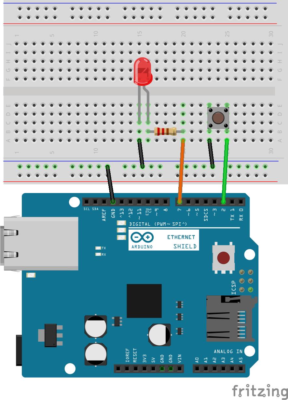 Arduino udp kommunikation nikolaus lueneburg
