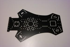 FPV Quadrocopter - Centerplatte oben