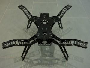 FPV Quadrocopter - Landegestell
