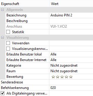 Loxone UDP Kommunikation - Loxone Config UDP Eingang Befehl
