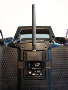 FrSky DJT Sender in 9XR Fernsteuerung