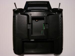 Turnigy 9XR Rückseite Modulschacht