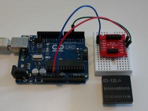 Arduino RFID Reader ID-12LA
