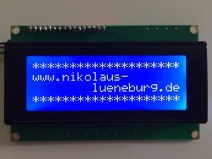 I2C LCD und Arduino - Beispiel