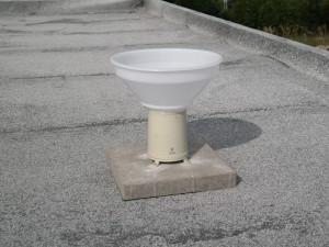 Regenmesser Auflösung erhöhen - Dach