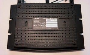 TP-Link Archer C5 Wireless Dual Band Gigabit Router - Rückseite