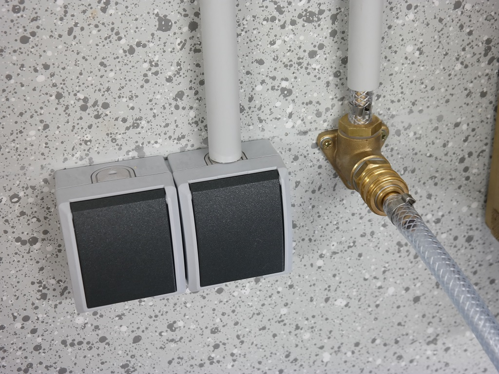 Druckluftverteilung in der Werkstatt - Anschluss