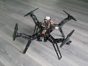 FPV Quadrocopter - Erster Start