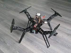 FPV Quadrocopter - Erster Start