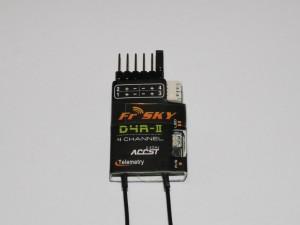 FrSky D4R-II Empfänger mit Telemetrie