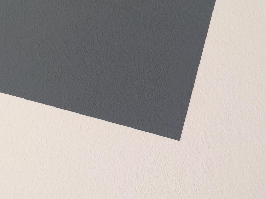 Wandgestaltung - Streichen mit Farbkante - NIKOLAUS-LUENEBURG.DE