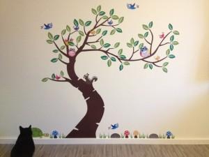 Wandtattoos - Baum mit Zorro