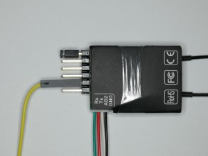 FrSky D4R-II flashen - Verkabelung