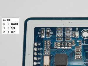 RFID PN532 Mini Breakout Modul - Jumper