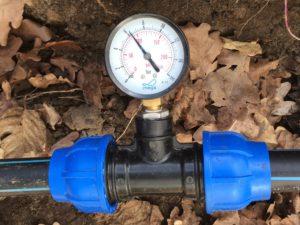 Planung der Gartenbewässerung - Leitungsdruck