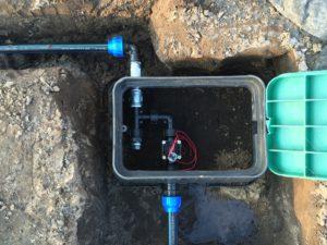 Planung der Gartenbewässerung - Ventilbox