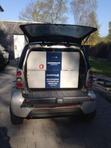 Husqvarna Automower - Anlieferung Karton