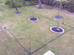 Planung der Gartenbewässerung - Versuchsaufbau