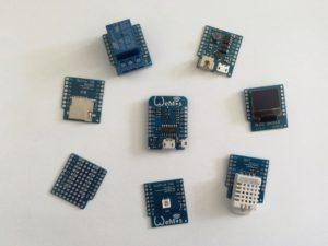 WeMos D1 mini - Shields