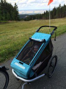 Croozer Kid Plus for 1 - Fahrradanhänger