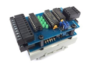 I2C Input & Output Module - Platinen mit Abstandshalter