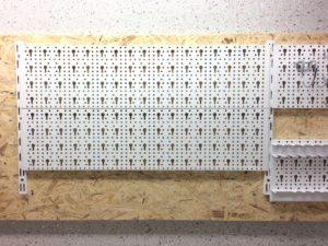 Werkzeugwand - Element System Lochwand