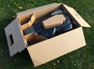 Husqvarna Automower 430x - Einlagerung im Karton