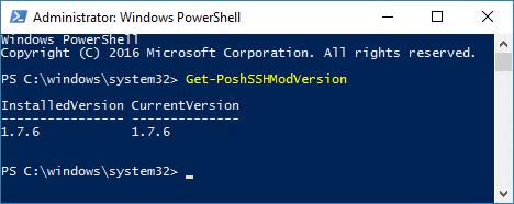 SSH und SFTP mit der PowerShell - Posh-SSH Modul