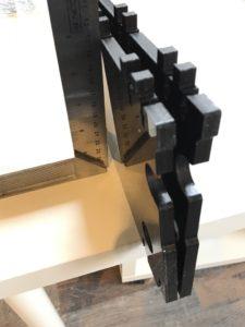 Anet A8 3D Drucker - Seitenteile schief
