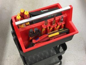 IKEA RASKOG als Werkstattwagen - Allit McPlus Carry 40 Tragekasten