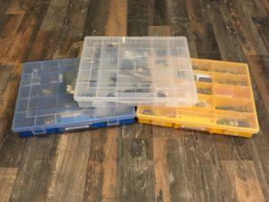 Allit Sortimentskasten und Werkzeugkasten - Aufbewahrung Kleinteile