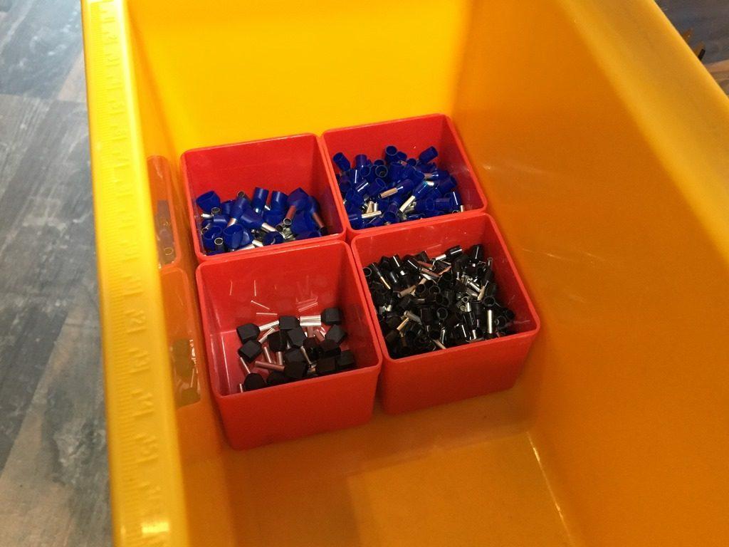 Allit Sortimentskasten und Werkzeugkasten - Einsatzbox im Werkzeugkasten