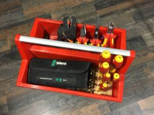 Allit Sortimentskasten und Werkzeugkasten - McPlus Carry 40 mit Werkzeug
