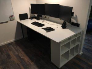 Projekt Neuer Schreibtisch