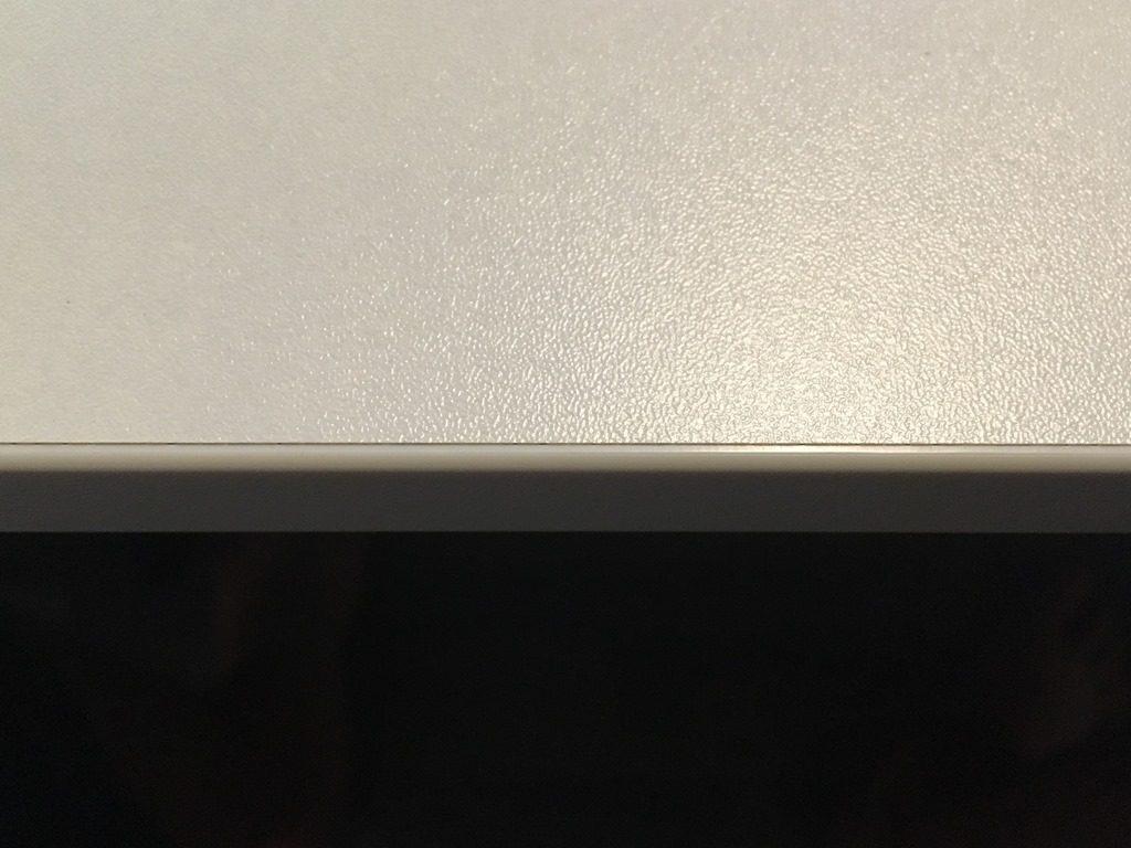 Projekt Neuer Schreibtisch - ABS Kante
