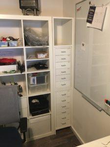 Projekt Neuer Schreibtisch - Regal für IKEA HELMER