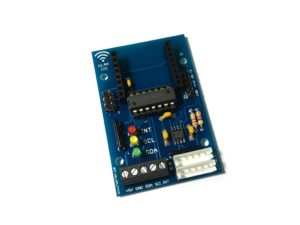 I2C WLAN Modul mit Wemos D1 mini - Prototyp unbestückt